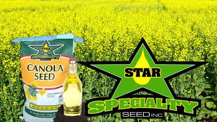 Star Canola Seed Heart Healthy Oil - Photographer and creative by Aaron Johnson