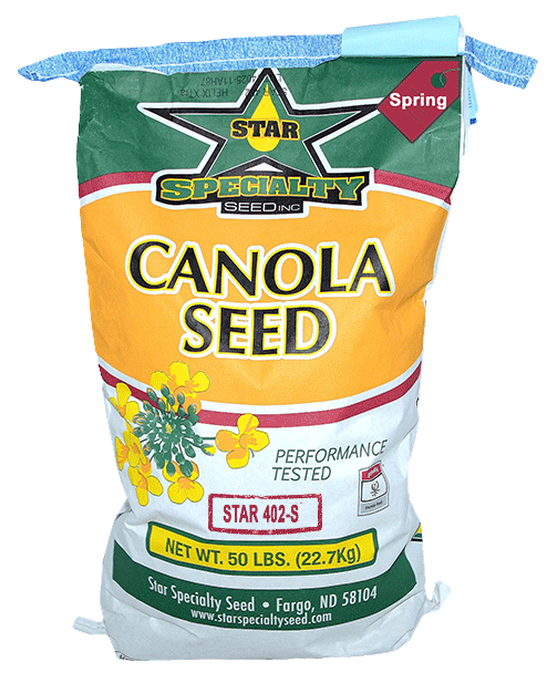Star Specialty Seed, Star 402, roundup ready, canola seed, spring canola